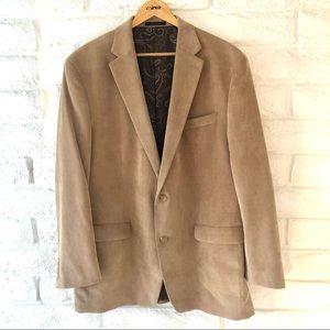 Ralph Lauren Tan Corduroy Sport Coat Blazer 46L